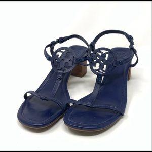 Tory Burch Miller Block Heel Sandals